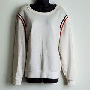 Sweatshirt with Stripes